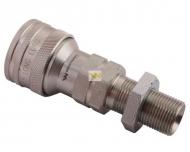 Szybkozłącze hydrauliczne gniazdo long M20x1.5 gwint zewnętrzny EURO (ISO 7241-A) Waryński