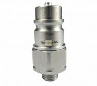 Szybkozłącze hydrauliczne wtyczka M14x1.5 gwint zewnętrzny EURO (9100814W) (ISO 7241-A) Waryński