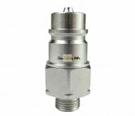 Szybkozłącze hydrauliczne wtyczka M16x1.5 gwint zewnętrzny EURO (9100816W) (ISO 7241-A) Waryński