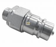 Szybkozłącze hydrauliczne wtyczka M18x1.5 gwint zewnętrzny EURO (9100818W) (ISO 7241-A) Waryński