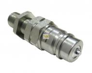Szybkozłącze hydrauliczne wtyczka long M18x1.5 gwint zewnętrzny EURO (9100818W) (ISO 7241-A) Waryński