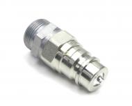 """Szybkozłącze hydrauliczne wtyczka ISO 7241-A EURO XGE18LR-1/2"""" M26x1.5 Waryński"""