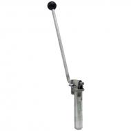 Sworzeń zaczepu 31x145 mm, dźwignia 250 mm