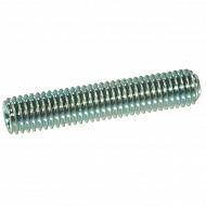 91668P025 Wkręt dociskowy z końcem wgłąbionym 45H ocynk Kramp, M6x8 mm