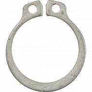 DL078 Pierścień zabezpieczający, 15x1,5 mm V2A, nierdzewny