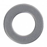 125A6RVS Podkładka płaska A2 Kramp, M6, 12,0 mm, nierdzewna