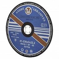 1861165121 Tarcza do cięcia stali Andre, Extra płaska 230 x 2 x 22