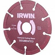 1865011151 Tarcza diamentowa segmentowa Irwin, 115 x 22,2