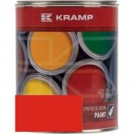 355508KR Lakier, farba pasujący do maszyn Zetor, czerwony, czerwona od 2002 roku 1 L
