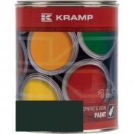643008KR Lakier, farba pasujący do maszyn Zetor, czarny w zieleń, zielona 1 L