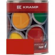 223508KR Lakier, farba pasujący do maszyn Zetor, seria 11 pomarańczowy, pomarańczowa 1 L