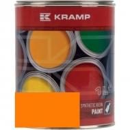 205508KR Lakier, farba pasuje do maszyn Amazone, pomarańczowy, pomarańczowa 1 L