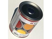 506008KR Lakier, farba pasuje do maszyn Deutz, ciemno-niebieski, ciemno-niebieska od 1979 roku 1 L oryginalny kolor producenta