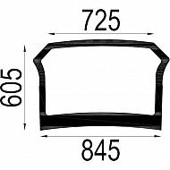 4414216N Szyba tylna dolna 900x605 mm