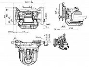 056311420A11 Zaczep transportowy K80 311mm