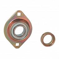 PCSLT25 Łożysko z obudową owalne, kompletne PCSLT25, O 25 mm