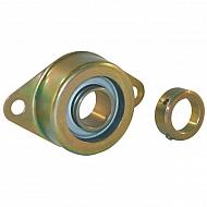 RCSMF25 Łożysko z obudową, z gumowym pierścieniem izolacyjnym RCSMF25, O 25 mm