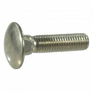 6031025RVSP050 Śruba zamkowa A2 Kramp, M10 x 25 mm