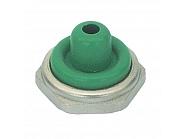 U11513 Pokrywa przełącznika, połowa, zielona, 12 mm