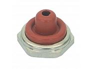 U11516 Pokrywa przełącznika, połowa, czerwona, 12 mm