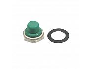 U16543 Przykrywka wyłącznika ciśnieniowego, zielona, 12 mm