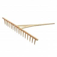 ES55378 Grabie drewniane oprawne Profi SHW, 16 zębów