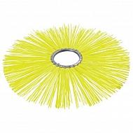 BR75010P Szczotka pierścieniowa 750/254 poli żółty