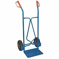 WH42460 Wózek do worków z dużą płytą