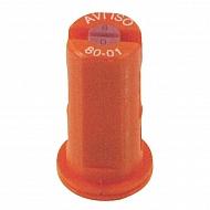AVI8001 Dysza wtryskiwacza AVI 80° pomarańczowa, ceramiczna