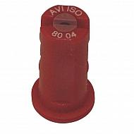 AVI8004 Dysza wtryskiwacza AVI 80° czerwona, ceramiczna