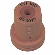 TVI800075 Dysza wtryskiwacza o pustym stożku TVI 80° różowa, ceramiczna