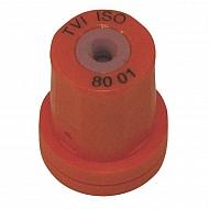 TVI8001 Dysza wtryskiwacza o pustym stożku TVI 80° pomarańczowa, ceramiczna