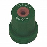 TVI80015 Dysza wtryskiwacza o pustym stożku TVI 80° zielona, ceramiczna