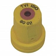 TVI8002 Dysza wtryskiwacza o pustym stożku TVI 80° żółta, ceramiczna
