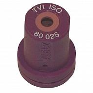 TVI80025 Dysza wtryskiwacza o pustym stożku TVI 80° fioletowa, ceramiczna