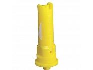 IS8002POM Dysza wtryskiwacza IS 80° żółta, z tworzywa sztucznego