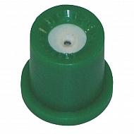 TR80015 Dysza o pustym stożku TR 80° zielona, ceramiczna