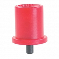 TR8004 Dysza o pustym stożku TR 80° czerwona, ceramiczna