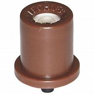 TR8005 Dysza o pustym stożku TR 80° brązowa, ceramiczna