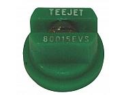 TP80015EVS Dysza płaskostrumieniowa TP 80° zielona V2A, nierdzewna