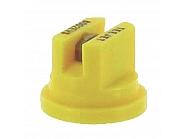 TP8002EVS Dysza płaskostrumieniowa TP 80° żółta V2A nierdzewna