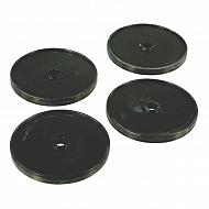 AR2371 Zestaw membran gumowych (4) 115 mm
