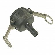 """18104C Gniazdo Camlock typ C PP Arag, na wąż 1"""" 25 mm"""