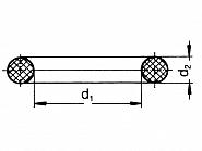 G11058V Pierścień samouszczelniający 25,07x2,62 Viton
