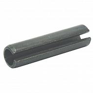 14811260 Kołek sprężysty czarny DIN 1481, 12x60