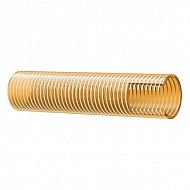 """SL25212 Wąż ssawno - tłoczny PCW żółty ze spiralą Alfagoma, 2 1/2"""", 63 mm"""