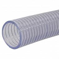 """SL30112 Wąż ssawno - tłoczny PCW ze spiralą stalową Alfagoma, 1 1/2"""", 38 mm"""
