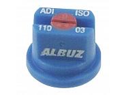 ADI11003 Dysza płaskostrumieniowa ADI110° niebieska ceramiczna