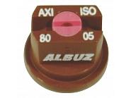API8005 Dysza płaskostrumieniowa API 80° brązowa ceramiczna