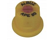 APE80YELLOW Dysza płaskostrumieniowa APE 80° żółta, ceramiczna
